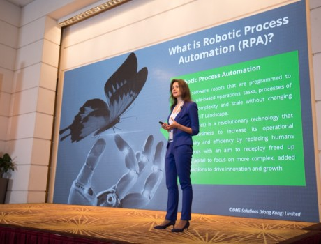 Роботизация бизнес-процессов в сфере системы снабжения  и логистики (Asia Pacific's Premier Supply Chain Conference, Гонконг)