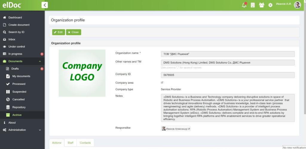Document Management System - elDoc | DMS Solutions Co