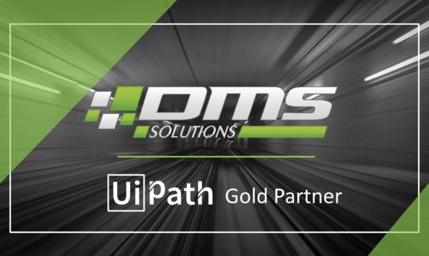 Компания «DMS Solutions» получила статус «Золотого партнёра» от «UiPath» — лидера среди RPA платформ