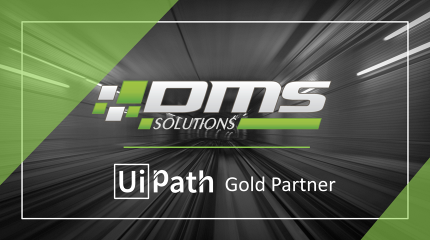 Компанія «DMS Solutions» отримала статус «Золотого партнера» від «UiPath» - лідера серед RPA-платформ