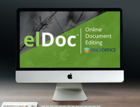 Повышайте уровень автоматизации с помощью возможности онлайн-редактирования документов ONLYOFFICE, доступной в elDoc